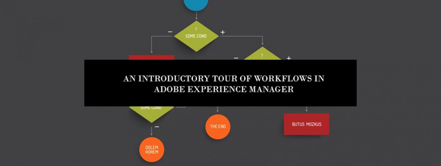 Workflow in AEM - beginners journey to create a workflow