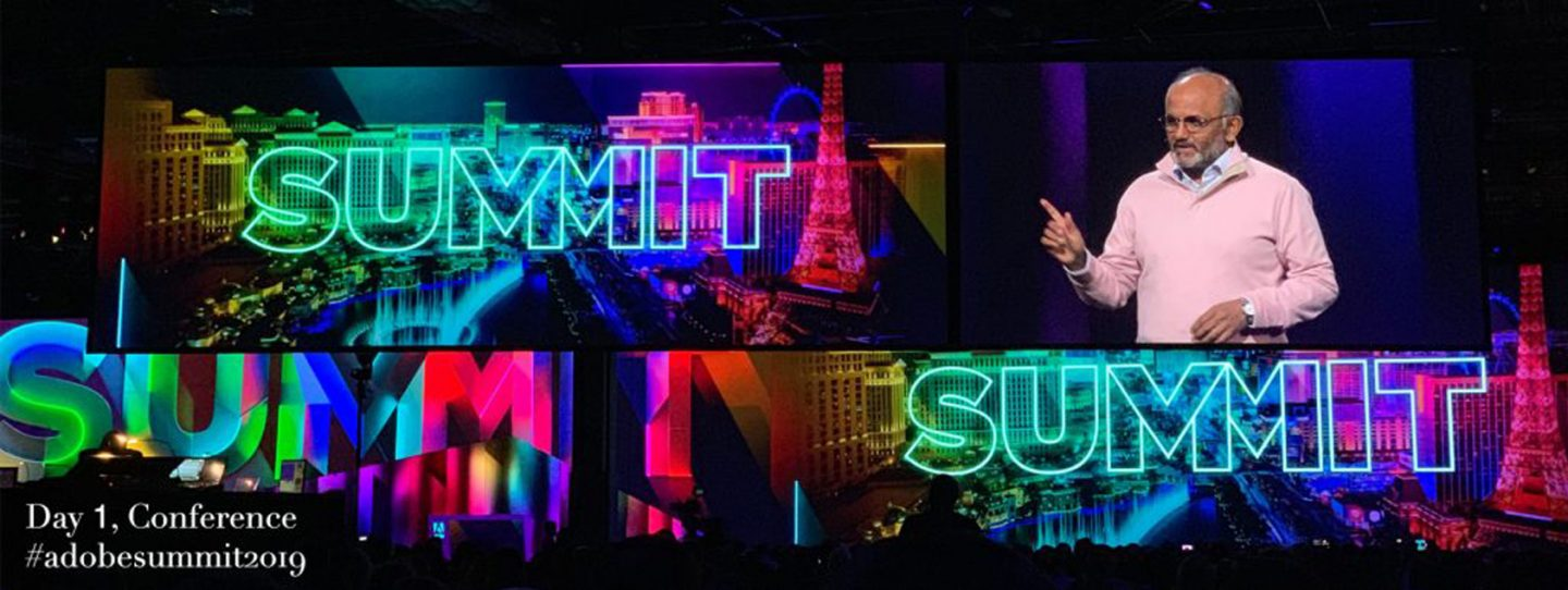 Adobe Summit: Day 1 Blog Header