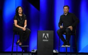 SunTrust CMO Susan Johnson with Adobe CTO Abhay Parasnis