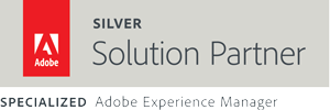 Silver Adobe Solution Partner + AEM Spezialized