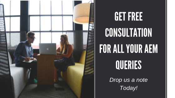 Get free consultation for all your AEM related queries